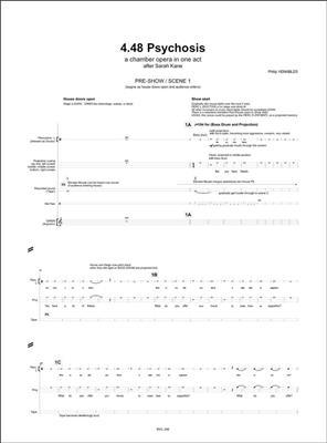 Philip Venables: 4.48 Psychosis: Vocal