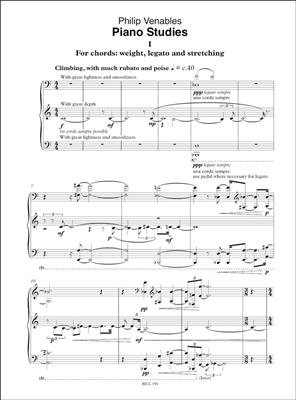 Philip Venables: Piano Studies: Piano