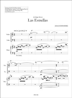 Adam Schoenberg: Las Estrellas: Piano Trio