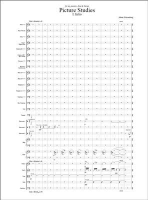 Adam Schoenberg: Picture Studies: Orchestra