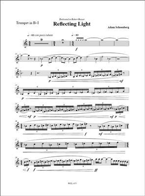 Adam Schoenberg: Reflecting Light (2006): Brass Ensemble