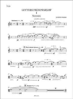 Joseph Phibbs: Letters From Warsaw: Viola