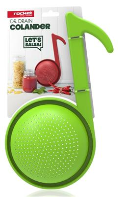 Dr Drain Colander (Green): Gifts