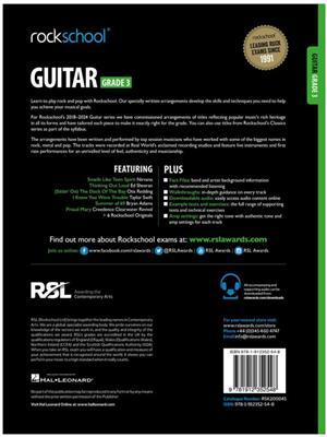 Rockschool Guitar Grade 3 2018+: Guitar or Lute