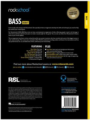 Rockschool Bass Debut 2018+: Guitare basse