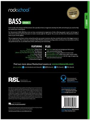 Rockschool Bass Grade 1 2018+: Bass Guitar