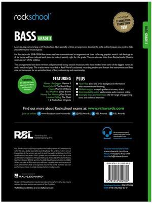 Rockschool Bass Grade 3 2018+: Bass Guitar