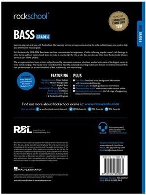 Rockschool Bass Grade 6 2018+: Bass Guitar