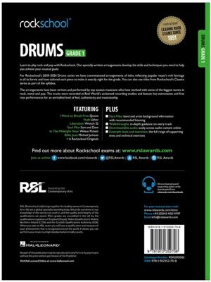 RSL: Rockschool Drums Grade 1 (2018)