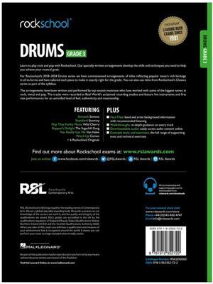 RSL: Rockschool Drums Grade 3 (2018)