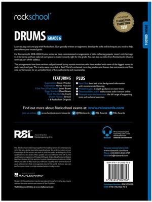 Rockschool Drums Grade 6 2018+: Drums and Percussion