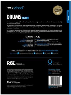 Rockschool Drums Grade 7 2018+: Drums and Percussion
