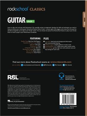 Rockschool: Rockschool Classics Guitar Grade 1 (2018)