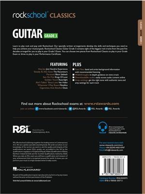 Rockschool: Rockschool Classics Guitar Grade 3 (2018)
