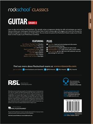 Rockschool Classics Guitar Grade 4 2018+: Guitar or Lute