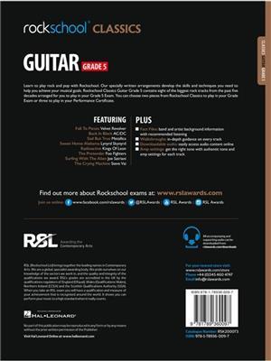 Rockschool Classics Guitar Grade 5 2018+: Guitar or Lute