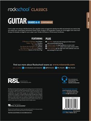 Rockschool: Rockschool Classics Guitar Grades 6-8 Compendium