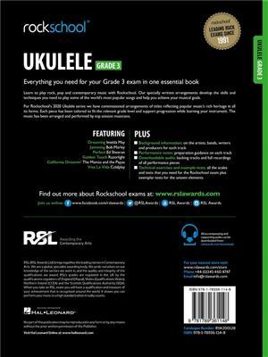 RSL: Rockschool Ukulele Grade 3 - (2020)