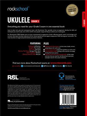 RSL: Rockschool Ukulele Grade 5 - (2020)