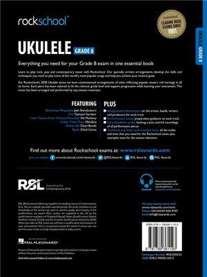 RSL: Rockschool Ukulele Grade 8 - (2020)