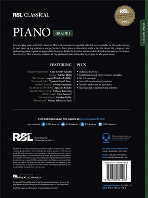 RSL: RSL Classical Piano Grade 1 (2021)