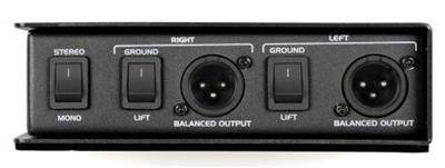 Samson Technologies: Samson S-Max MD2Pro - Stereo Passive Direct Box
