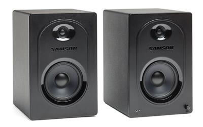 Samson Technologies: Samson MediaOne M50 Powered Studio Monitors