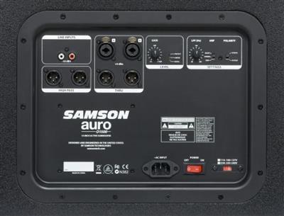 Samson Technologies: Samson Auro D1500 Active Subwoofer