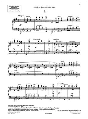 Enrique Granados: Danzas Espanolas Volume 1: Piano or Keyboard