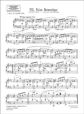 Déodat de Séverac: Valse Romantique, extrait no.7 de