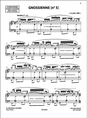Erik Satie: Gnossiennes: Piano or Keyboard