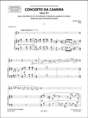 Concerto da camera opus 61