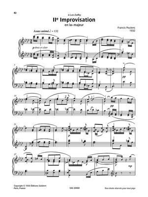 Francis Poulenc: Œuvres choisies - 30 Pièces pour piano: Piano
