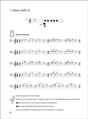 Elisabeth Weinzierl-Wächter: Flöte spielen Band B mit CD: Flute