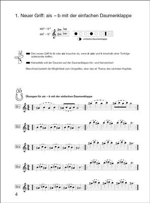 Elisabeth Weinzierl-Wächter: Flöte spielen Band C mit CD: Flute