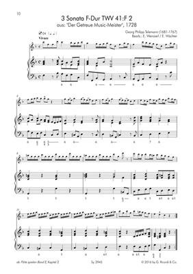 Flöte spielen Spielbuch E: Flute