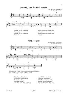 Volkslieder: Arr. (Maria Linnemann): Guitar
