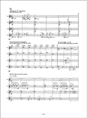Gerhard Stäbler: Spuren: Saxophone Ensemble
