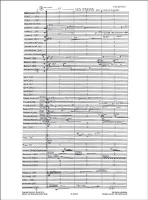 Vinko Globokar: Les Otages: Orchestra