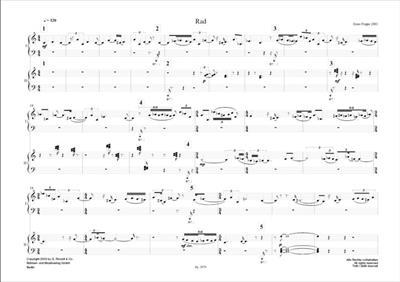 Enno Poppe: Rad (2003): Piano Duet