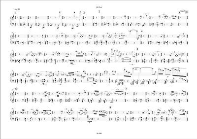Enno Poppe: Arbeit: Piano