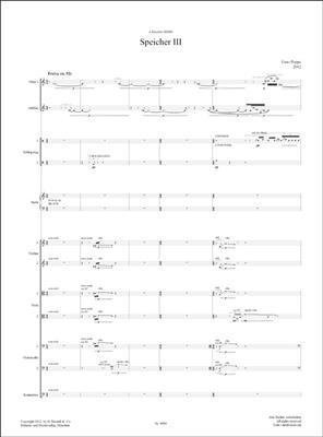 Enno Poppe: Speicher III: Chamber Orchestra