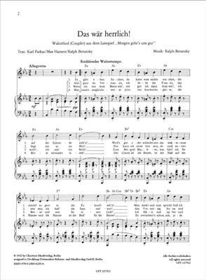 So oder so ist das Leben, Heft 3: Vocal & Piano