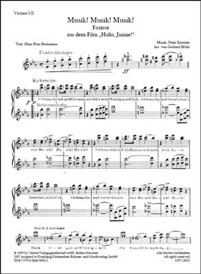 Peter Kreuder: Musik! Musik! Musik!: Ensemble