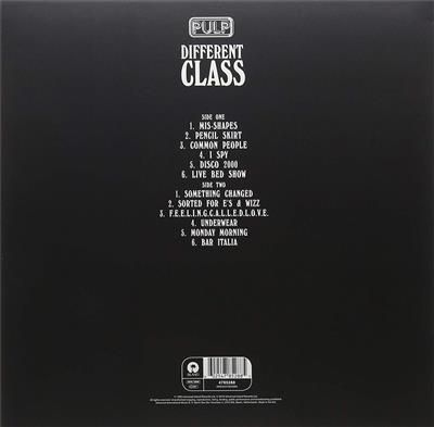 Pulp Different Class Vinyl Record