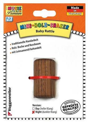 Voggenreiter Verlag: Mini-Holz-Shaker (Dunkel)