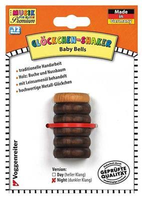 Voggenreiter Verlag: Glöckchen-Shaker (Dunkel)