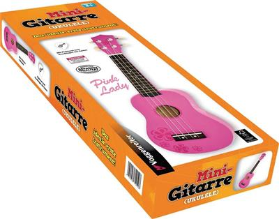 Mini-Gitarre (Ukulele) Pink