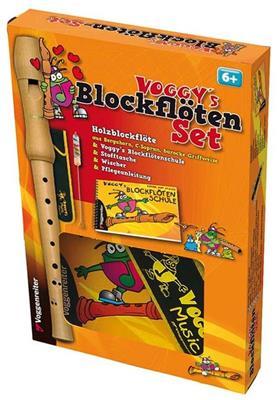 Martina Holtz: Voggy's Blockflöten-Set (Bar. Gw): Recorder