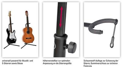 Volt Gitarrenständer Gs-100: Accessories